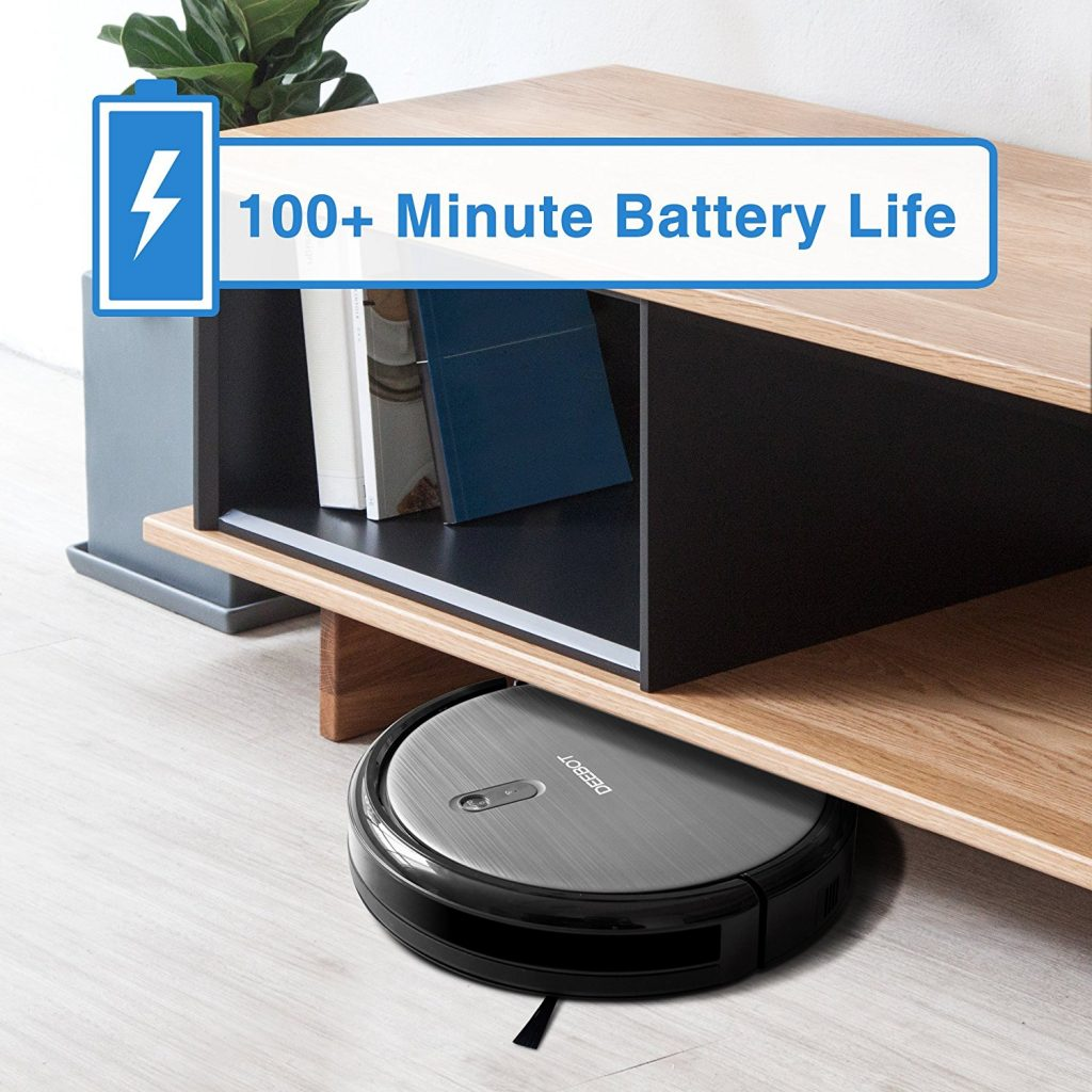 ECOVACS DeeBot N79, Battery life, Vacuum Fanatics, Reviews and Comparisons of Robotic Cleaners